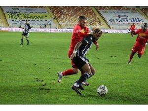 Süper Lig: Yeni Malatyaspor: 0 - Beşiktaş: 0 (İlk yarı)