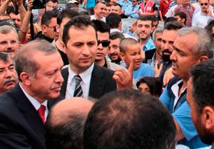 Başbakan ile vatandaş arasında ilginç sohbet
