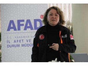 Karaman'da 1-7 Mart Deprem Haftası etkinlikleri