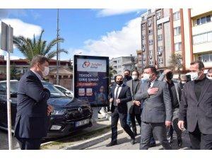 MHP il başkanlığından Edremit ve Gömeç'e ziyaret