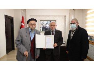Yozgat'tan Sivas'a geldi, cami için bağış yaptı