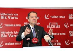 """Erbakan: """"Bizim Kıbrıs sorunumuz 1974'te sona ermiştir"""""""