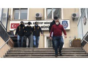 İstanbul'da sustalı dehşeti yaşatan zanlı adliyeye sevk edildi