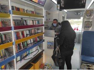 Gezici Kütüphane Yeniden Başiskele'de