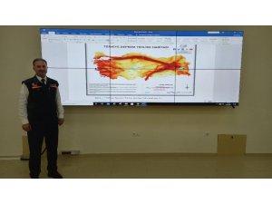 """AFAD Müdürü deprem riskini harita üzerinde gösterdi: """"Kırıkkale'yi çevreleyen 3 tane fay zonu var"""""""
