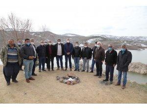 Başkan Tarhan, Mezitli'nin yüksek kesimlerindeki kuraklığa dikkat çekti