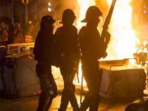 Barcelona'da şiddet durulmuyor!