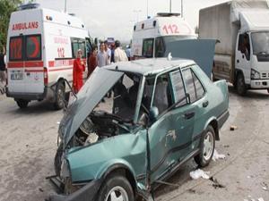 Ankara'da trafik kazası: 10 yaralı