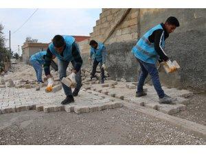Haliliye'de 3 mahallede üst yapı çalışması