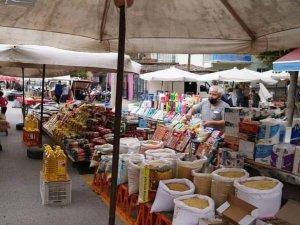 Vaka sayılarının hızla arttığı Erbaa'da semt pazarları kapatıldı