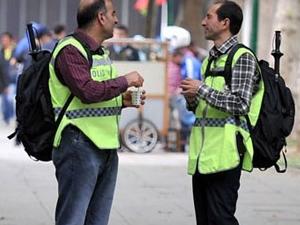 'Gezi'ye özel sırt çantalı sivil polisler