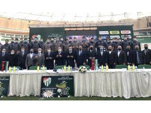 Bursaspor Kulübü, 'Hatıran Yeter Kombine Kartı' tanıtımını yaptı