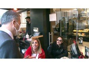 Vali Yerlikaya'dan Bakırköy'de korona virüs denetimi