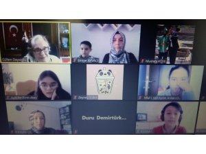 Öğrenciler, yazar Gülten Dayıoğlu ile söyleyişi de buluştu
