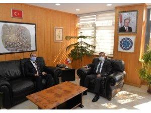 BŞEÜ Rektörü Prof. Dr. Şükrü Beydemir'den Uludağ Üniversitesini ziyaret
