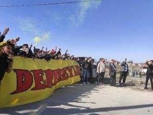 Denizlispor maçı öncesi taraftardan Yeni Malatyaspor'a moral