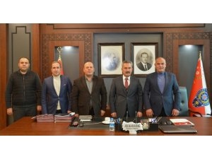 Genel Başkan Er'den Van Emniyet Müdürü Karabağ'a ziyaret