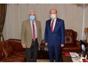 """KKTC Cumhurbaşkanı Tatar: """"Kıbrıs'ın bir sorun değil, çözümlenmiş bir mesele olmasını istiyoruz"""""""