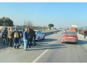 İzmir'de iki motosiklet çarpıştı: 1 ölü, 1 yaralı