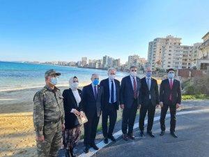 TBMM Dışişleri Komisyonu Başkanı Kılıç, Kapalı Maraş'ı gezdi