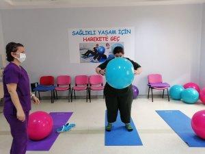 Obezite merkezi sayesinde verdikleri kilolarla geleceğe güvenle bakıyorlar