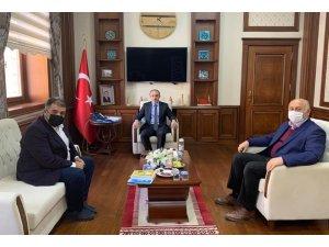 Milletvekili Battal'dan Vali Epcim'e ziyaret