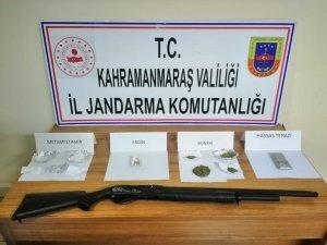 Kahramanmaraş'ta uyuşturucu operasyonu; 5 gözaltı