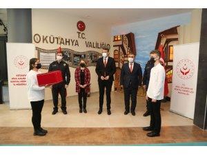 Şanlı Türk bayrağı, Kütahya'dan Çanakkale'ye uğurlandı