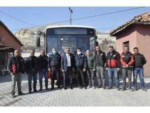 İBB, Sivas'ın Gürün belediyesine otobüs hediye etti
