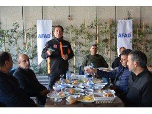 AFAD gazetecilerle bir araya geldi