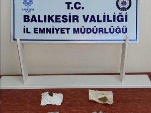 Balıkesir'de 8 şüpheliye uyuşturucu operasyonu