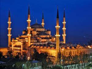 Sultan Ahmet Camisi'ni mermer'den yaptı