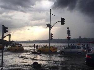 İstanbul sular altında!