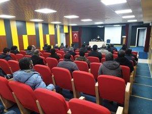 Kaymakam Balcı, Belediye birim çalışanları ile birlikte değerlendirme toplantısı gerçekleştirildi