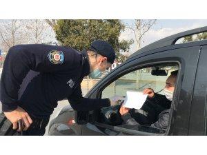 Konya'da sokağa çıkma kısıtlamasında uygulamalar sürüyor