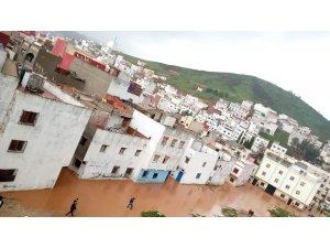 Fas'ta sel felaketinde 275 evi su bastı