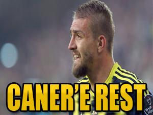 Galatasaray'dan Caner'e rest
