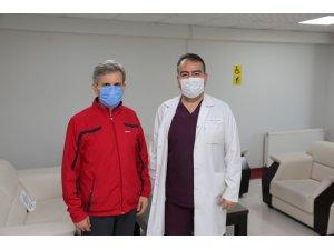 Başkan Şevkan, Denizli Cerrahi Hastanesi'nde sağlığına kavuştu