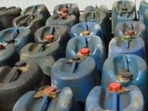 Hatay'da 90 bin litre kaçak akaryakıt yakalandı