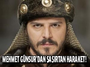 Mehmet Günsur'dan şaşırtıcak hareket
