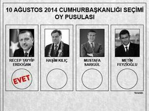 AKP'li vekil cumhurbaşkanlığı oy pusulasını paylaştı!