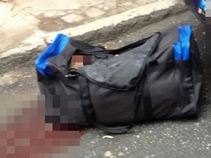 Beyoğlu'nda, çantada bulunan kadın cesedi