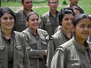 PKK'ya eleman taşıyan kadın tutuklandı!