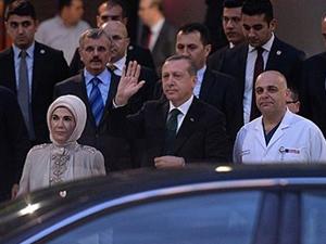 Erdoğan Kenan Işık'ı ziyaret etti