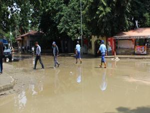 Geyve'de 750'den fazla ev selden etkilendi
