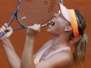 Sharapova Fransa'da şampiyon oldu!