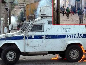 Cizre'de polisten eylemcilere şaşırtan anons