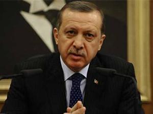 Lice'de bayrağı indirenlere Erdoğan'dan tepki