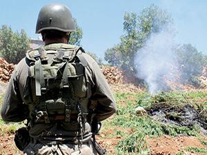 Teröristlere, hava destekli operasyon