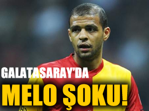 Galatasaray'da Felipe Melo şoku!